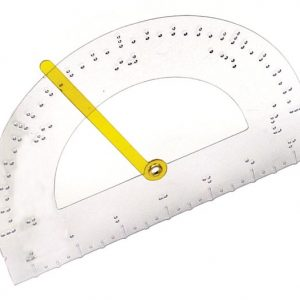 Tactile Protractor