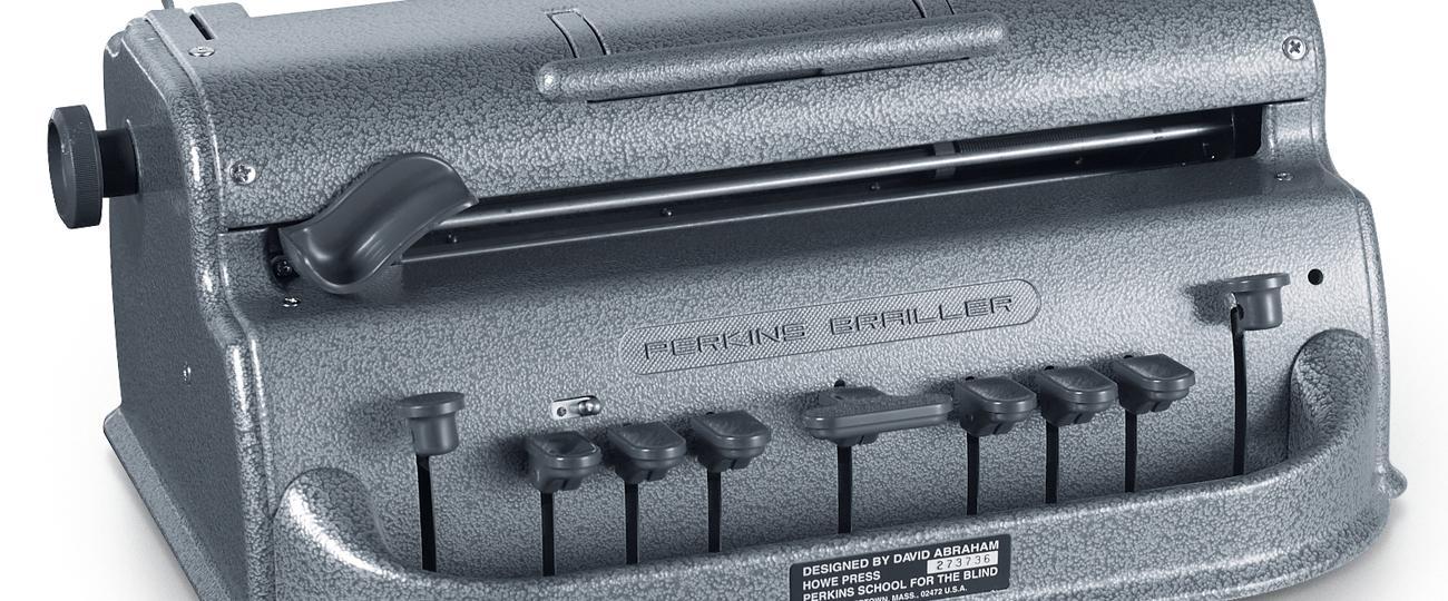 Braille Machine  Perkins Brailler    Special Needs