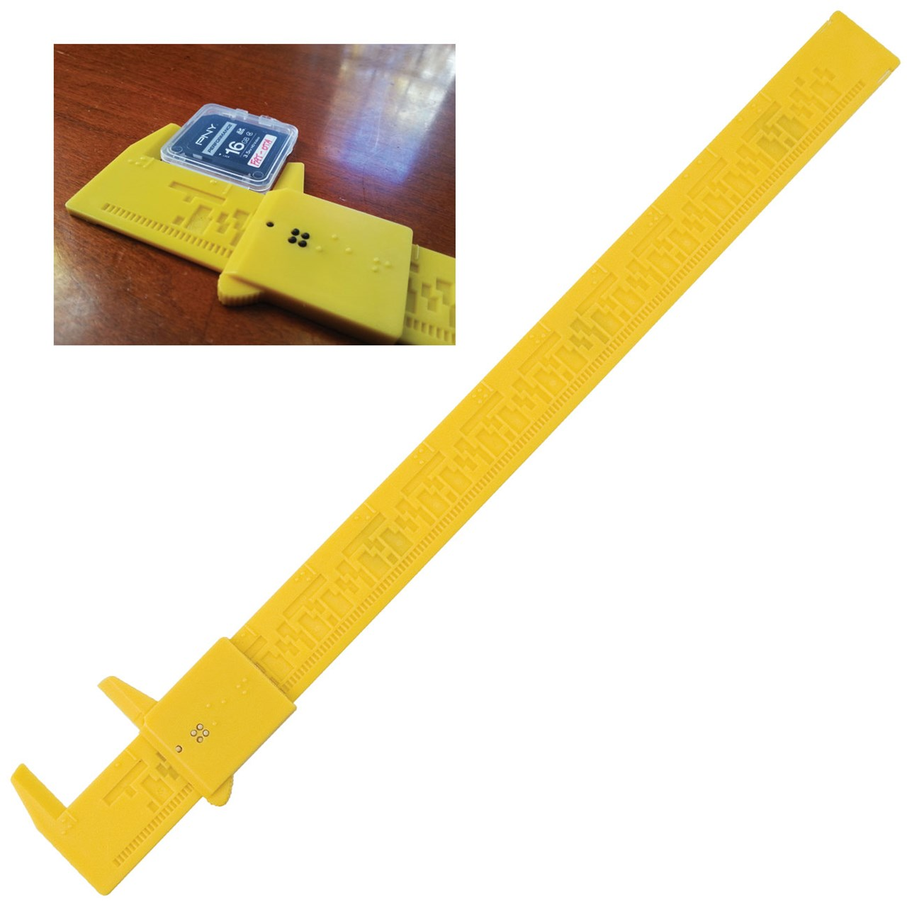 Tactile Braille Caliper | Special Needs Education Supplies ...